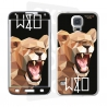 Skincover® Galaxy S5 - Wild Life Lion By Wize x Ope