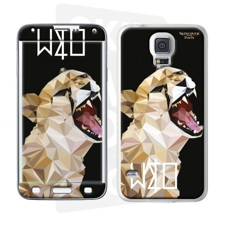 Skincover® Galaxy S5 - Wild Life Tiger By Wize x Ope