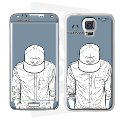 Skincover® Galaxy S5 - Wize Men by Wize x Ope