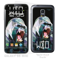Skincover® Galaxy S5 Mini - Wild Life Gorilla By Wize x Ope