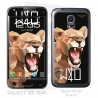 Skincover® Galaxy S5 Mini - Wild Life Lion By Wize x Ope