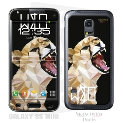 Skincover® Galaxy S5 Mini - Wild Life Tiger By Wize x Ope