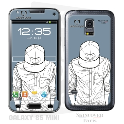 Skincover® Galaxy S5 Mini - Wize Men by Wize x Ope