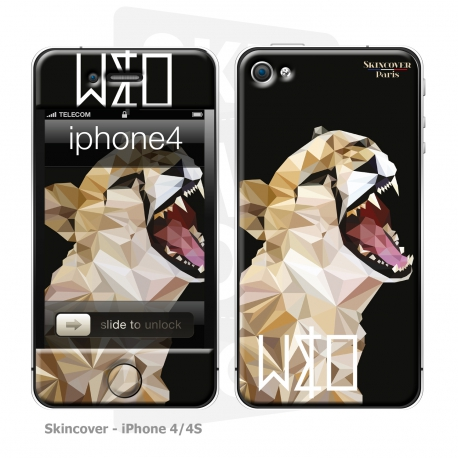 Skincover® iPhone 4/4S - Wild Life Tiger By Wize x Ope