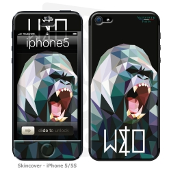 Skincover® Iphone 5/5S - Wild Life Gorilla By Wize x Ope