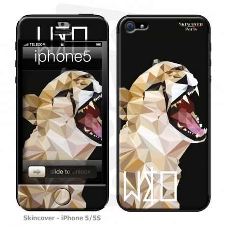 Skincover® Iphone 5/5S - Wild Life Tiger By Wize x Ope