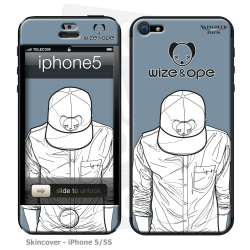 Skincover® iPhone 5 / 5S / 5SE - Wize Men by Wize x Ope