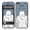 Skincover® Iphone 5/5S - Wize Men by Wize x Ope