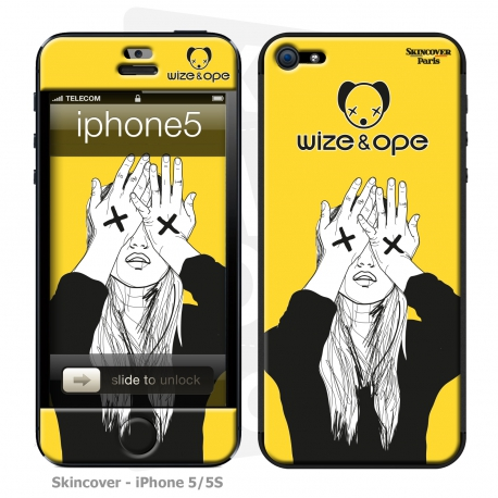 Skincover® Iphone 5/5S - Wize Women by Wize x Ope