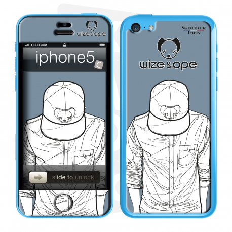 Skincover® Iphone 5C - Wize Men by Wize x Ope