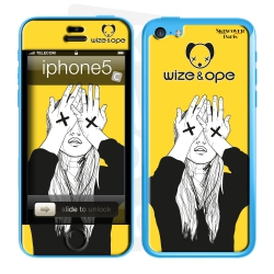 Skincover® Iphone 5C - Wize Women by Wize x Ope