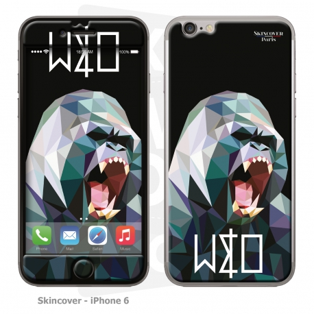 Skincover® IPhone 6 - Wild Life Gorilla By Wize x Ope