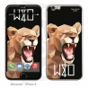 Skincover® IPhone 6 - Wild Life Lion By Wize x Ope