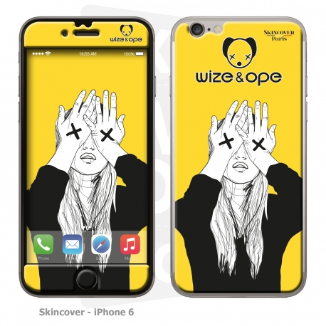 Skincover® IPhone 6 - Wize Women by Wize x Ope