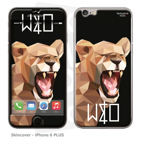 Skincover® IPhone 6 PLUS - Wild Life Lion By Wize x Ope