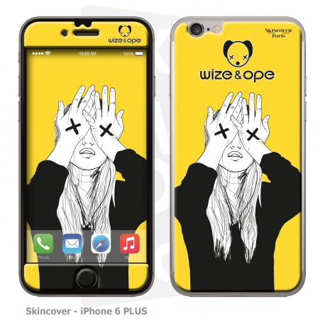 Skincover® IPhone 6 PLUS - Wize Women by Wize x Ope