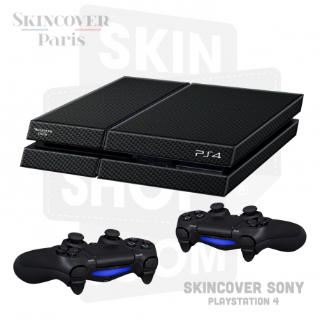 Skincover® Sony Playstation 4 - PS4 - Carbon
