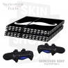 Skincover® Sony Playstation 4 - PS4 - Moustache W&B
