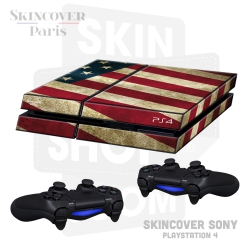 Skincover® Sony Playstation 4 - PS4 - Old Glory