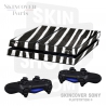 Skincover® Sony Playstation 4 - PS4 - Zebre