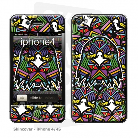 Skincover® iPhone 4-4S - Aigle By Baro Sarre