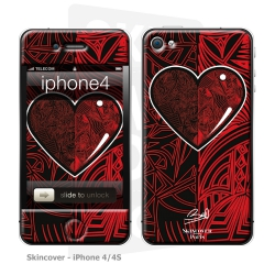 Skincover® iPhone 4-4S - Extra-lucide By Baro Sarre
