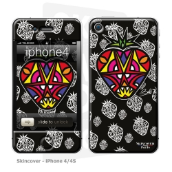 Skincover® iPhone 4-4S - Fraise By Baro Sarre