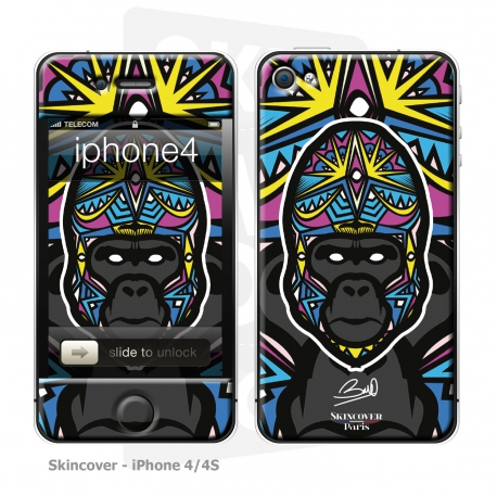 Skincover® iPhone 4-4S - Gorille By Baro Sarre