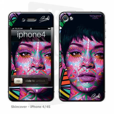 Skincover® iPhone 4-4S - Riri By Baro Sarre