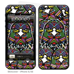 Skincover® iPhone 5-5S - Aigle By Baro Sarre