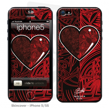 Skincover® iPhone 5-5S - Extra-lucide By Baro Sarre