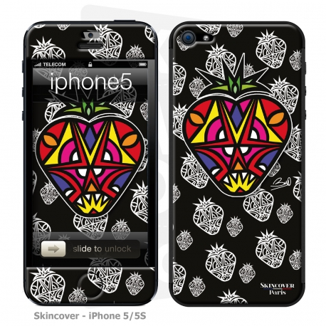Skincover® iPhone 5-5S - Fraise By Baro Sarre