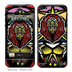 Skincover® iPhone 5-5S - Lion By Baro Sarre