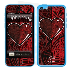 Skincover® iPhone 5C - Extra-lucide By Baro Sarre