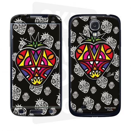Skincover® Galaxy S4 - Fraise By Baro Sarre