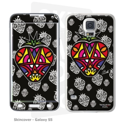 Skincover® Galaxy S5 - Fraise By Baro Sarre