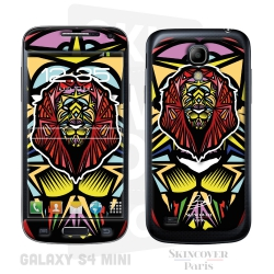 Skincover® Galaxy S4 Mini - Lion By Baro Sarre