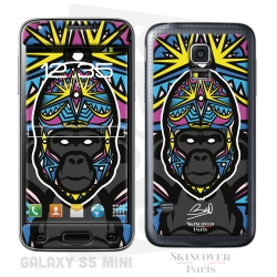 Skincover® Galaxy S5 Mini - Gorille By Baro Sarre