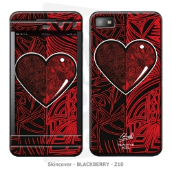 Skincover® Blackberry Z10 - Extra-lucide By Baro Sarre