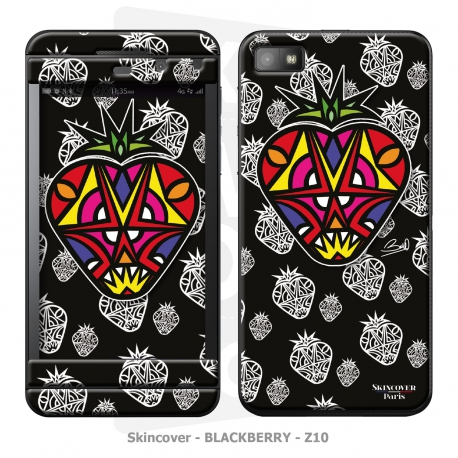 Skincover® Blackberry Z10 - Fraise By Baro Sarre
