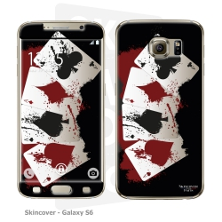 Skincover® Galaxy S6 - 4 Aces