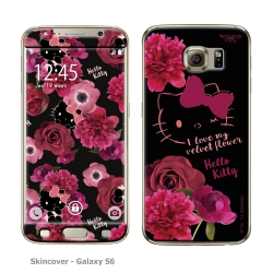 Skincover® Galaxy S6 - Dark Velvet By Hello Kitty