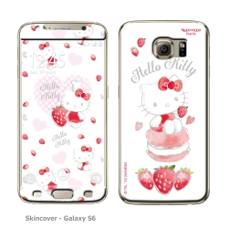 Skincover® Galaxy S6 - Fraise By Hello Kitty