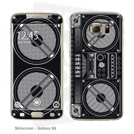 Skincover® Galaxy S6 - Ghetto Blaster
