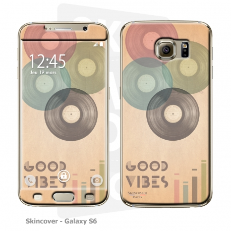 Skincover® Galaxy S6 - Good Vibe