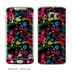 Skincover® Galaxy S6 - Grafitti By Hello Kitty
