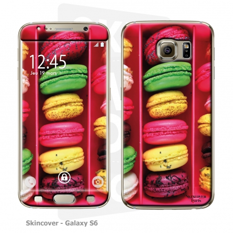Skincover® Galaxy S6 - Macarons