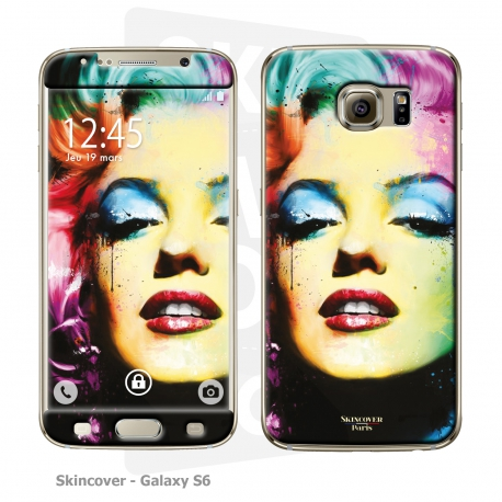 Skincover® Galaxy S6 - Marilyn By P.Murciano