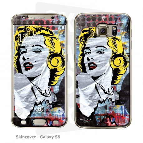 Skincover® Galaxy S6 - Marilyn By Paslier