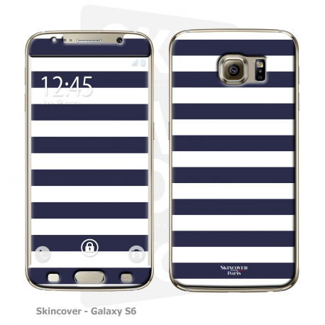 Skincover® Galaxy S6 - Marinière